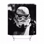 {25 new designs} Custom Star Wars Shower Bathroom Curtain