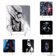 [25 different] Custom HD Star Wars Bath Bathroom Shower Curtain