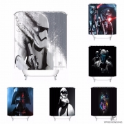 [25 different] Custom HD Star Wars Bath Bathroom Shower Curtain