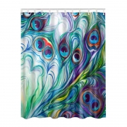 3D Collection {12 Diff} Nautical,Colorful,Seascape Print Bathroom Shower curtains
