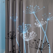 Dandelion Bathroom 3D Waterproof Polyester Curtain