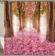 [23 Variations] 3D HD Scenes Multi-styles Digital Printed Shower Curtains